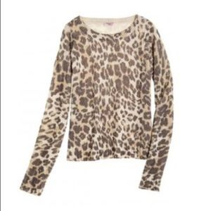 43e1035aefb36 Calypso St. Barth Sweaters - Calypso St. Barth Leopard Cashmere Sweater